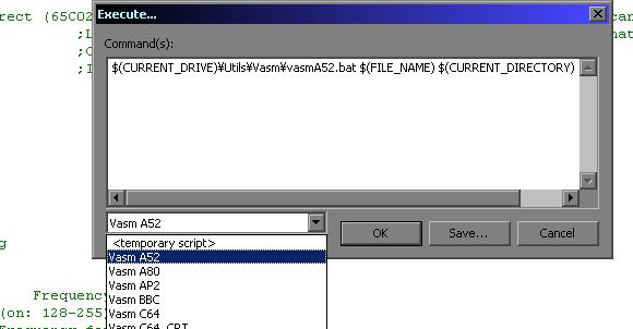 Multiplatform 6502 Assembly Development tools