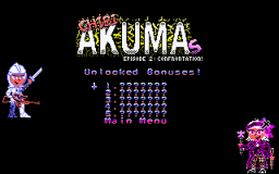 Chibi Akumas: Ep2 Unlocked Bonus Screen