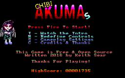 Chibi Akumas - Main Menu