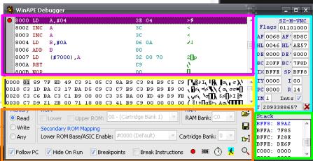 Z80 Emulator C